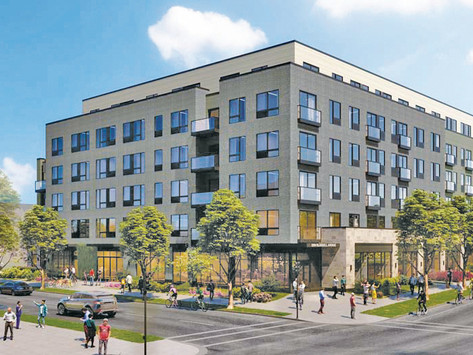 Apartments approved at 26th & Blaisdell in split vote