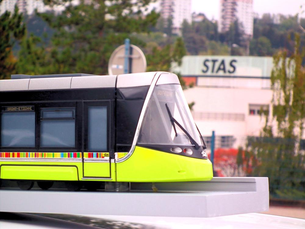 tramway CAF urbos 3 STAS saint-etienne métropole transpole dépôt