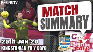 Match summary - Kingstonian