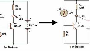 L20, Dark/Light Sensor Using Transistor