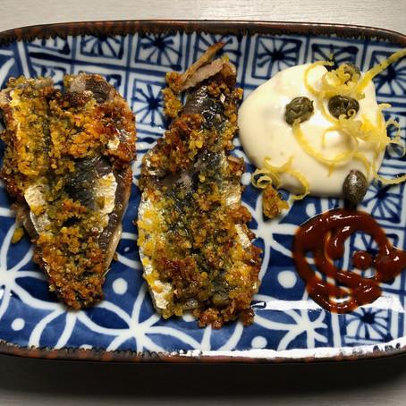 Recipe: Lupin Crumb Crunchy Marinated Fillets