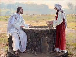 The Samaritan Woman at the Well Meets Jesus John 4:1-38