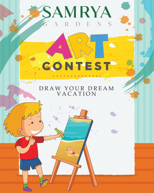 ART CONTEST DRAW YOUR DREAM VACATION