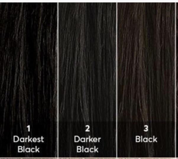 Black hair shades