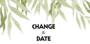 Change the Date Karte
