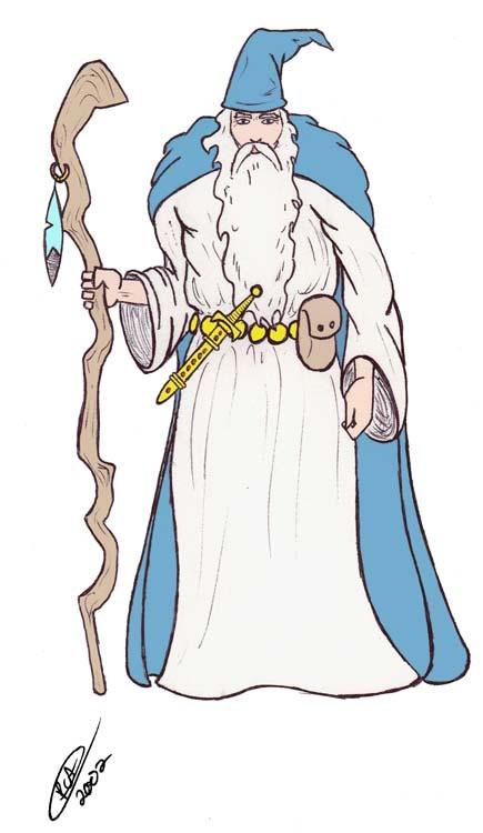 Wizard by Pierre C. Arseneault. Used w/ permission.