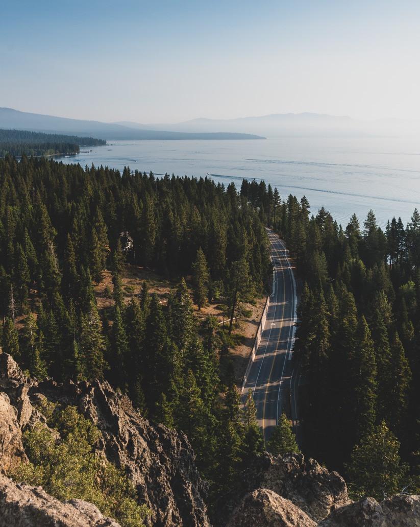 Eagle Rock hike lake tahoe