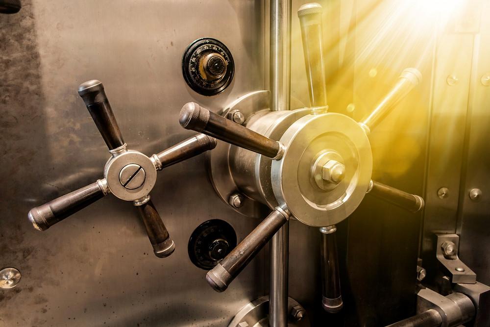 Bank vault, SIP Management IP vault