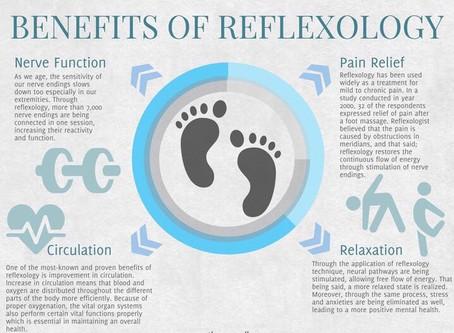Reflexology has many health benefits*⠀⠀⠀⠀⠀⠀⠀⠀⠀