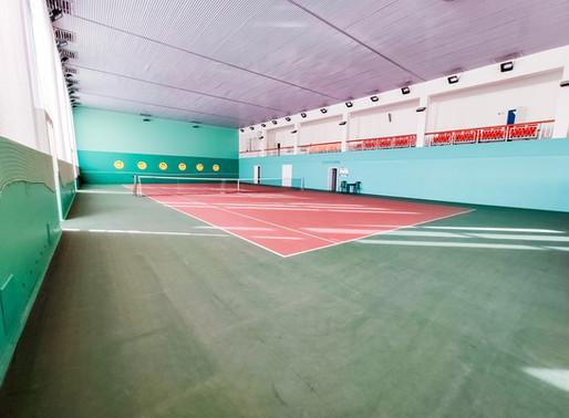 Спортзалы доступны для аренды.