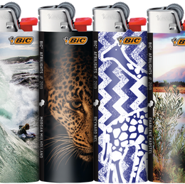 Africa in Your Pocket BIC Introduces Africa-Inspired Range of Pocket Lighters.