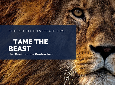 Taming the Construction Accounting Beast