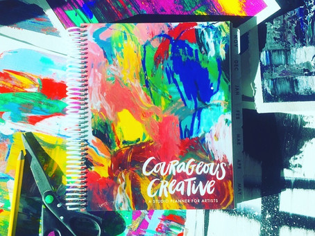 Courageous Creative, A Studio planner for artists