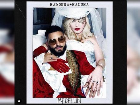 Madonna graba canción con Maluma