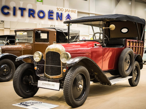 1923   10HP type B2  - Camionette normande