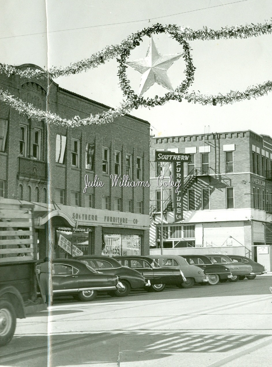 Southern Furniture Co. 1000 Indiana Ave. 1950's