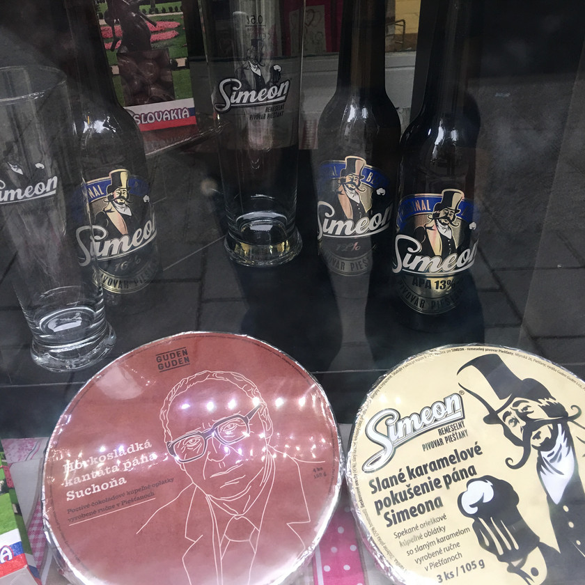 Pivo Simeon v TeaShop Piešťany