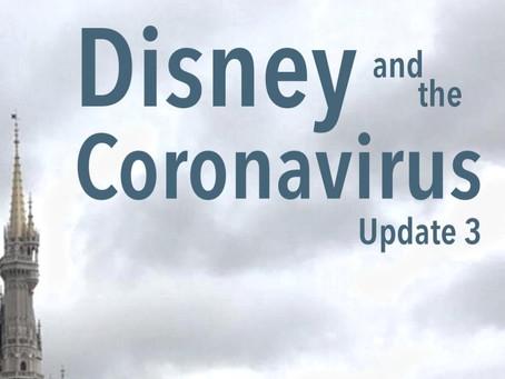DHI Podcast: Disney and the Coronavirus - Update 3