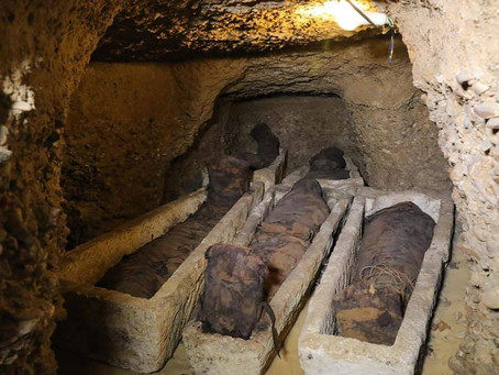 50 мумий в Туна эль-Гебель