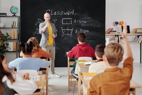teacher; students; classroom; learning
