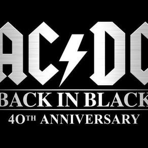 """40° ANIVERSARIO DE """"BACK IN BLACK"""" DE LOS AC/DC"""