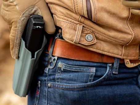 BELTAPTOR™, pour monter poches et matériels sur ceintures lisses