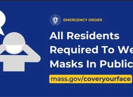 New Emergency Mask Order 5/1/2020