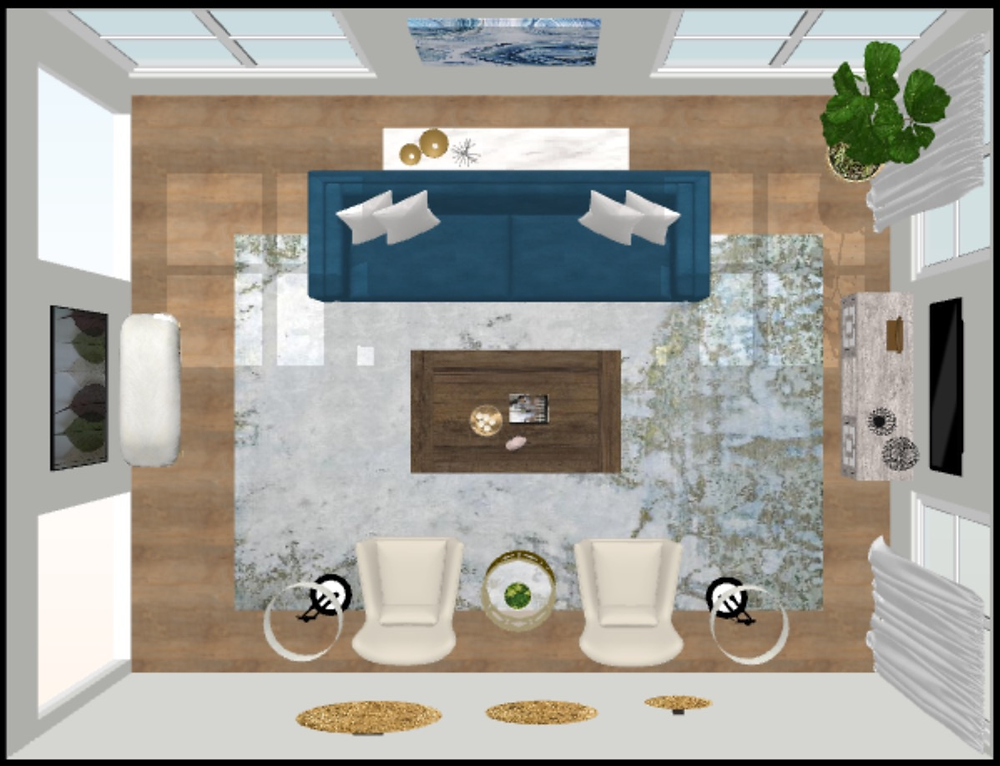 Lindsey Murillo Interiors provides digital interior design boards for all of our E-Design client projects.