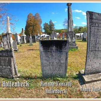 The burial place of John & Hannah (Conrad) Hollenbeck