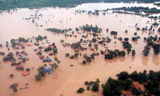 A consequência do regime de monções nas barragens do Laos