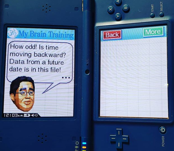 Brain Age: Train Your Brain in Minutes a Day Nintendo DS