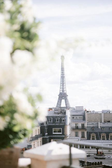 Rooftop wedding in Paris - wedding plann