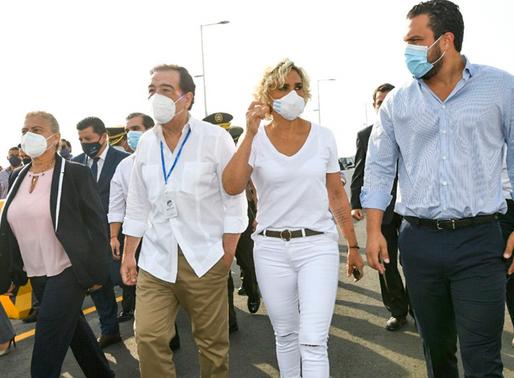"""Cynthia Viteri """"Se registra un ligero incremento de casos confirmados"""" en Guayaquil"""