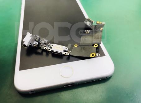 iPhone6Plus マイク不良交換