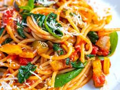 Easy to make Veggie Spaghetti