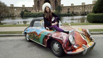 o extraordinário Porsche de Janis Joplin