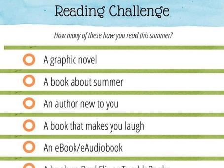 2020 Weird Summer Reading Challenge