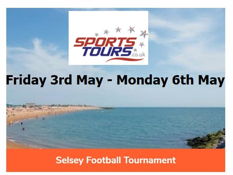 Meadow Tour to Selsey, May Day weekend!