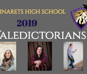 Introducing the 2019 Valedictorians