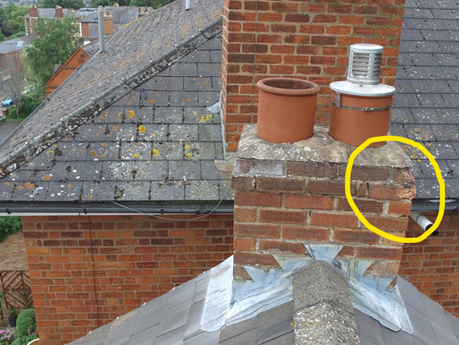 Chimney rebuild needed 4 floors up