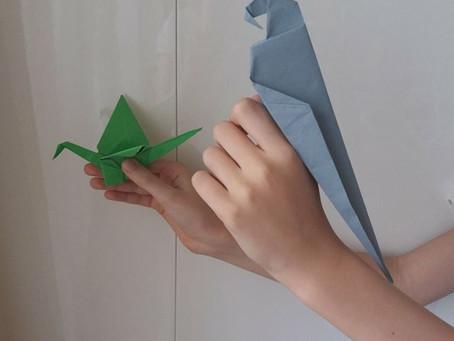 Új hobbi: origami