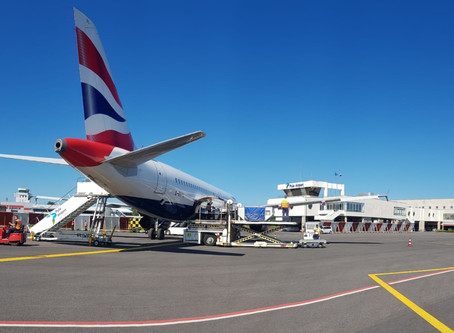 British Airways today operated last flight to Zagreb, yesterday to Pula Airport