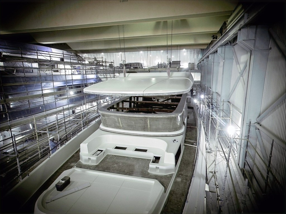 Gulf Craft Announces Construction Update on Its Latest Majesty 120 Superyacht