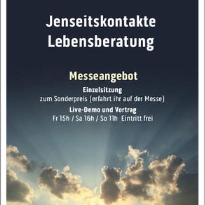 Dem Himmel BEGEGNEN - LIVE Jenseitskontakte auf der Esoterikmesse Leipzig