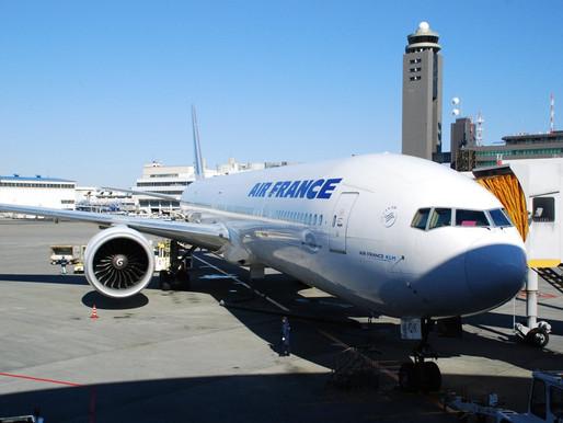 Air France # Flight Review • AF275   NRT-CDG   B77W • Economy