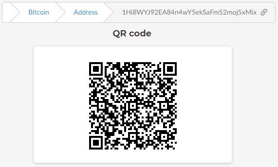 """Bitcoin address of IFG """"7777"""" LLC №2: 1Hi8WYJ92EA84n4wY5ekSaFm52moj5xMix"""