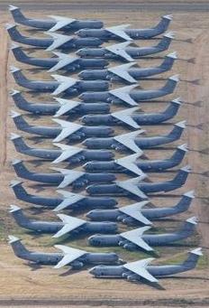 Gli aerei in naftalina della U.S. Air Force