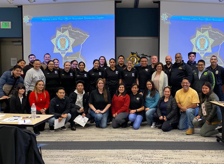 Riverland Community and Technical College Criminal Justice students joined NLPOA