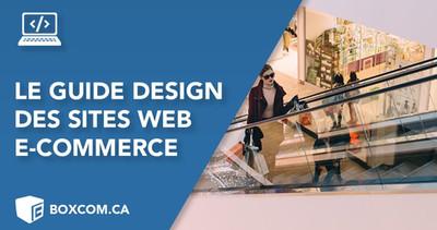 Le guide ultime du design des sites web e-commerce. Créer une boutique en ligne soi-même