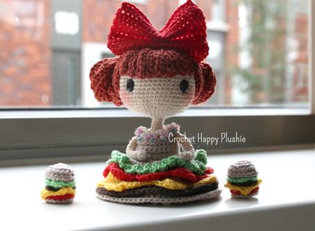 Crochet Pattern Lily the Hamburger